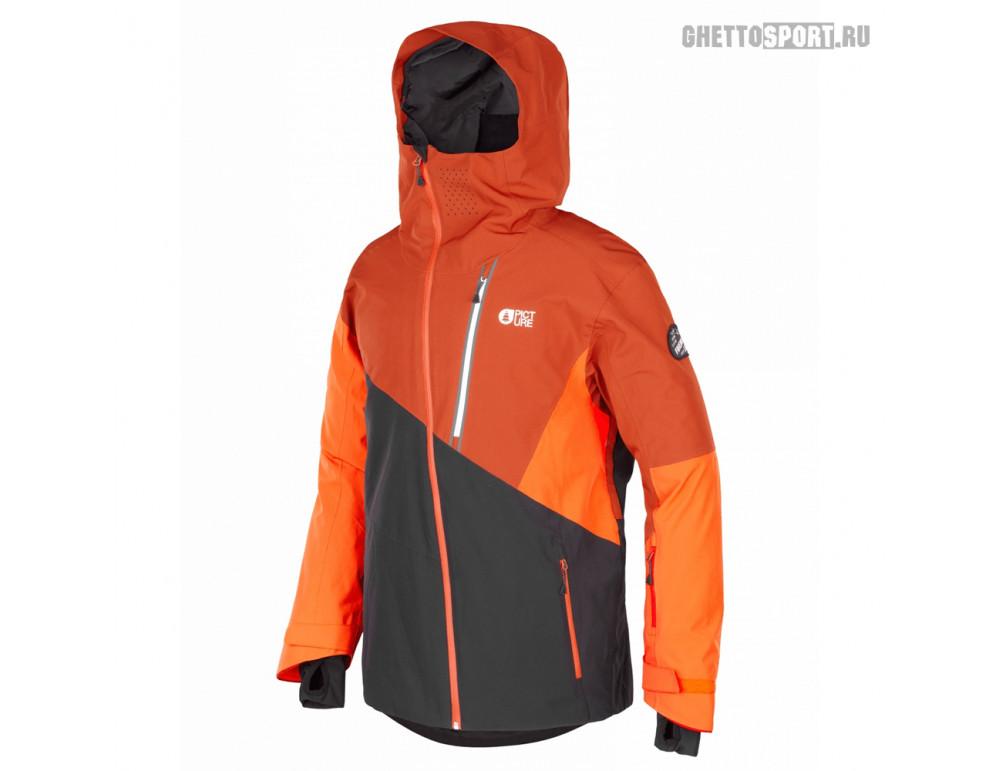 Куртка Picture Organic 2020 Alpin Jkt Black/Brick