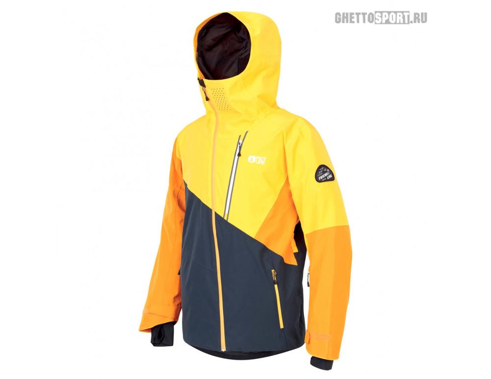 Куртка Picture Organic 2020 Alpin Jkt Dark Blue/Yellow