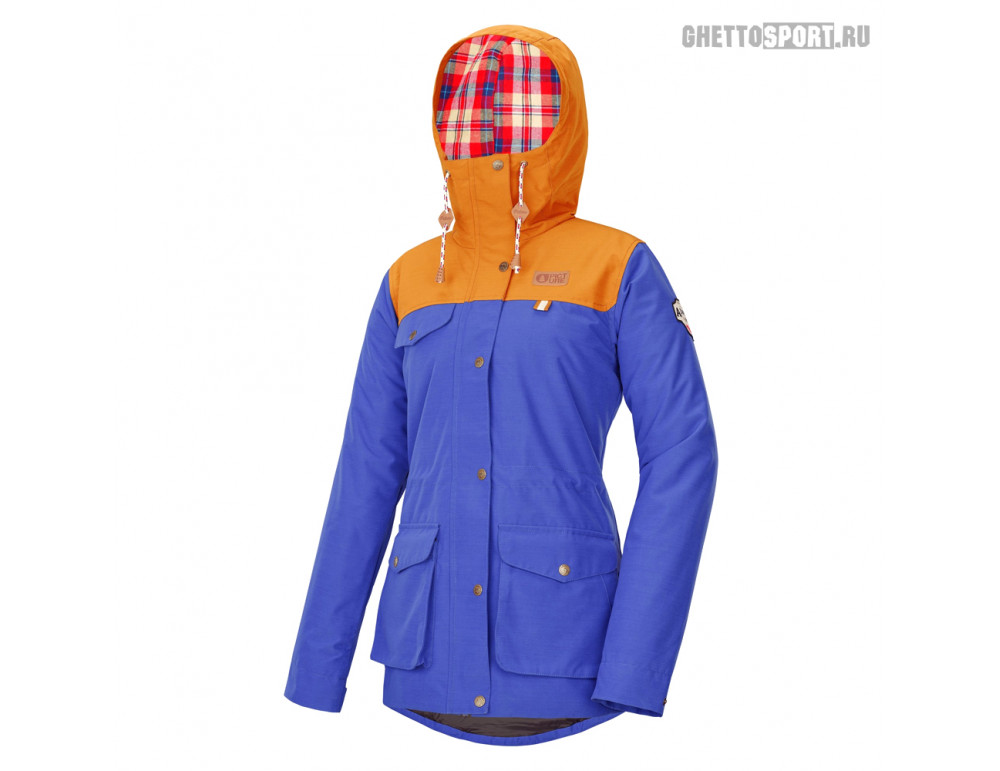 Куртка Picture Organic 2020 Kate Jkt Blue