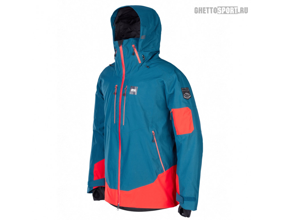 Куртка Picture Organic 2020 Track Jkt Petrol Blue