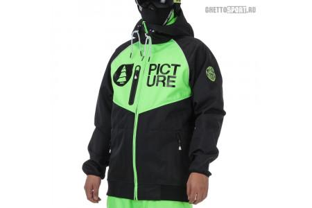 Куртка Picture Organic 2017 Zak Black Neon Green XL
