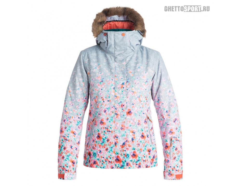 Куртка Roxy 2017 Jet Ski Gradient Flowers Heather M
