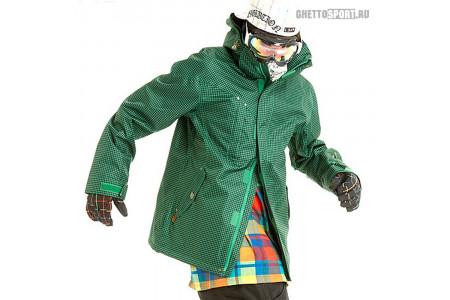 Куртка STL 2013 Polka Mini Check Green L
