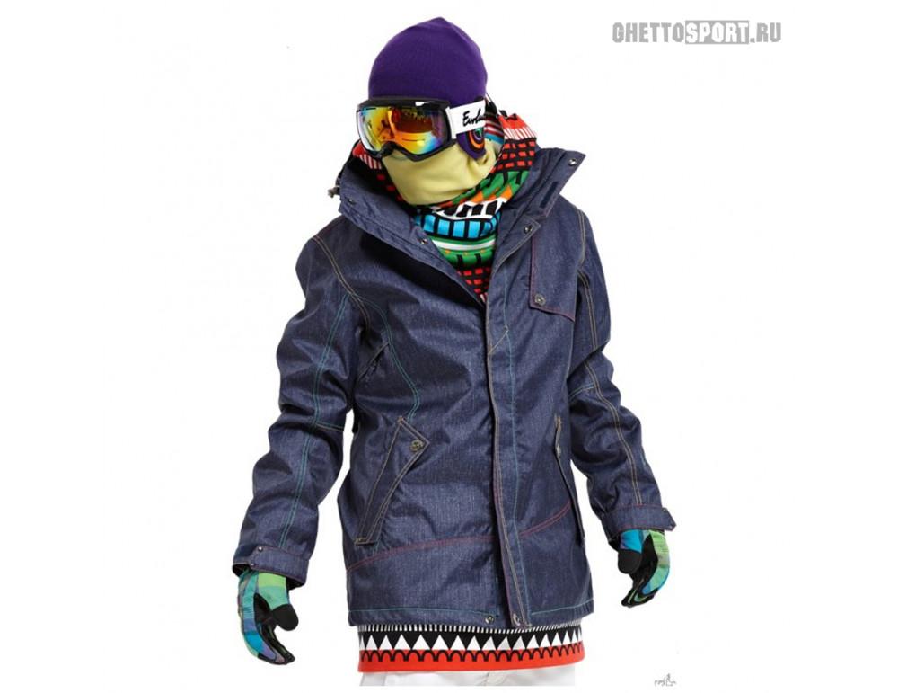 Куртка STL 2013 Popstar Black/Denim L