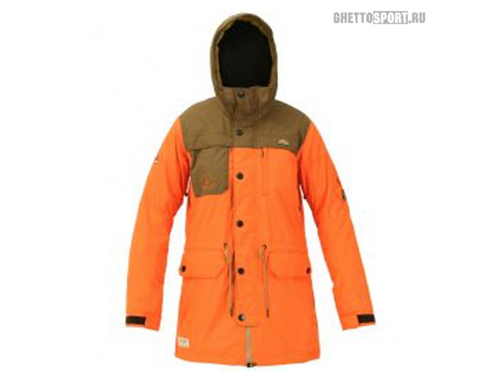 Куртка Sugapoint 2014 Tracy Orange/Cocoa S