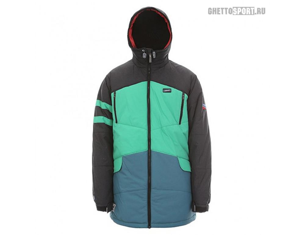 Куртка Sugapoint 2015 Capo Black/Green/Pine M