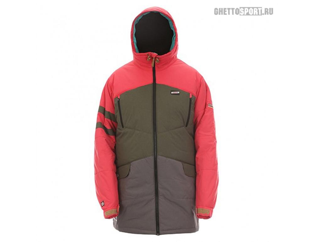 Куртка Sugapoint 2015 Capo Red/Khaki/Grey S