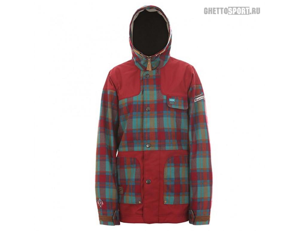 Куртка Sugapoint 2015 Keeley Ch.Emerald/Burgundy S
