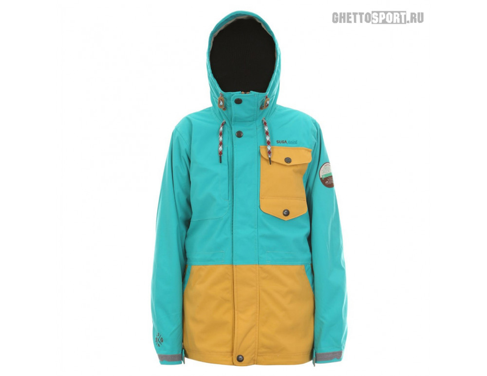 Куртка Sugapoint 2015 Tanoa Emerald/Mustard S