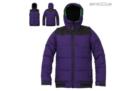 Куртка Yobs 2013 Bubble Pan Viola/Bazalt S