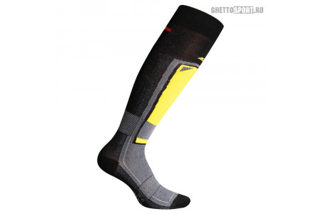 Носки Accapi 2021 Feet Black/Yellow
