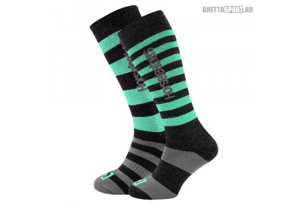 Носки Horsefeathers 2019 Zane Long Thermolite Socks Misty Jade