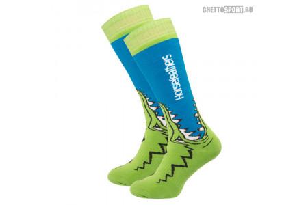 Носки Horsefeathers 2020 Croc Socks Blue