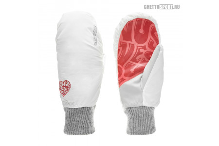 Варежки Bonus Gloves 2019 You White/Red