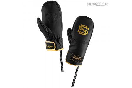 Варежки Bonus Gloves 2020 Leather Black