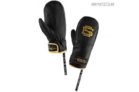 Варежки Bonus Gloves 2020 Leather Black