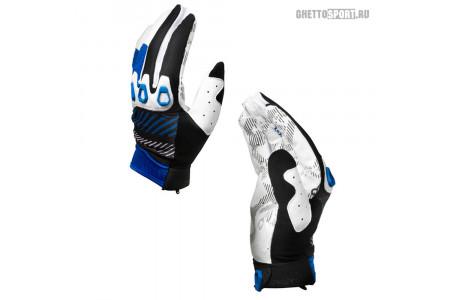 Мото перчатки Oakley 2014 Automatic Glove Blue Line