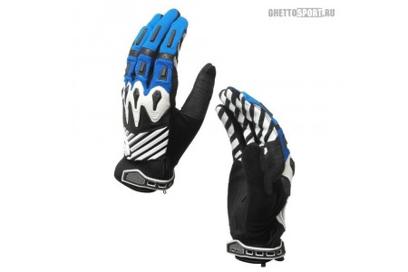 Мото перчатки Oakley 2014 Overload Glove Blue Line