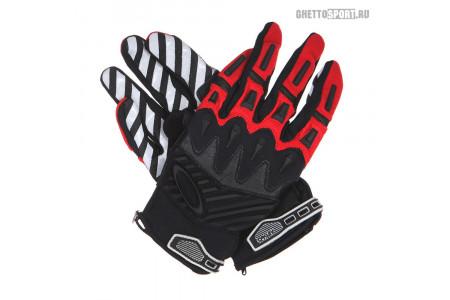 Мото перчатки Oakley 2014 Overload Glove Red Line