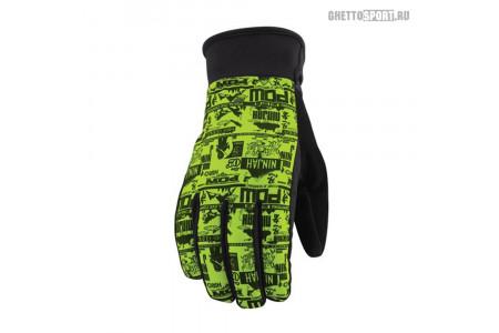 Перчатки POW 2013 Ninjah Glove Green S