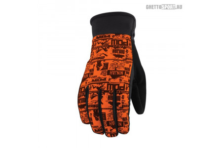 Перчатки POW 2013 Ninjah Glove Orange S