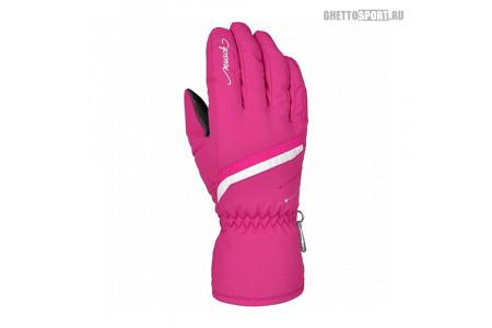 Перчатки Reusch 2019 Marisa Pink Glo/White