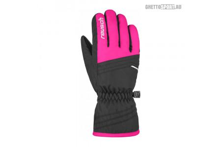 Перчатки Reusch 2020 Alan Junior Black/Pink Glo 6,5