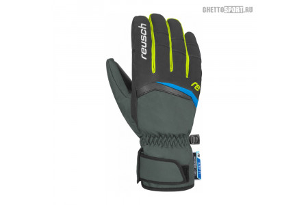 Перчатки Reusch 2020 Balin R-Tex® Xt Dark Granite/Safety Yellow 8,5