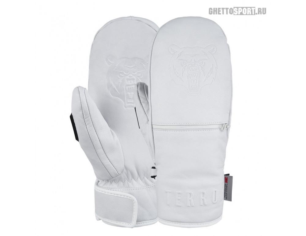 Варежки Terror Snow 2021 Leather Mitten White