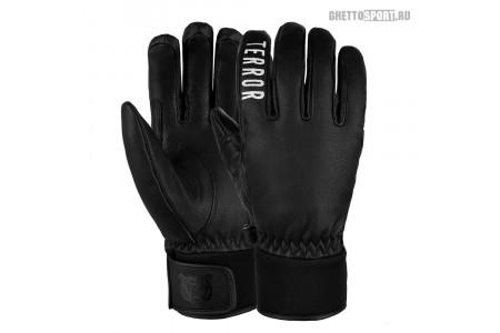 Перчатки Terror Snow 2021 Leather Gloves Black