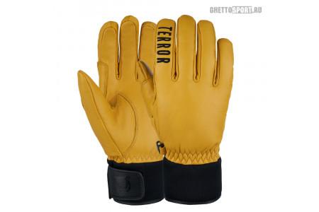 Перчатки Terror Snow 2021 Leather Gloves Brown