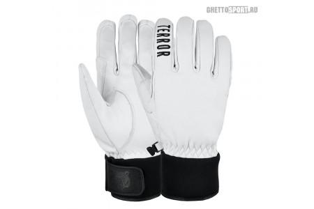 Перчатки Terror Snow 2021 Leather Gloves White