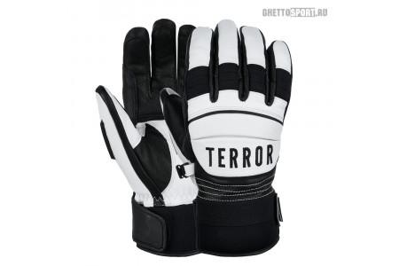 Перчатки Terror Snow 2021 Race Gloves White