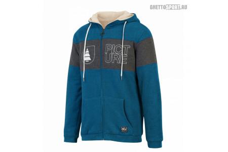 Толстовка Picture Organic 2019 Basement Plush Hoody Zip E Picture Blue XL