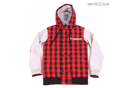 Толстовка Armour 2014 Red Checked Red/Bkack