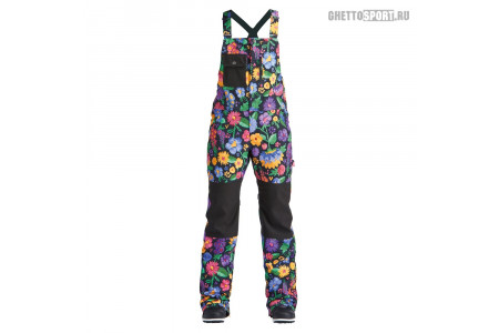 Полукомбинезон Airblaster 2020 Hot Bib Flowers Black