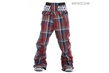 Штаны STL 2012 Jazz Snowboard Pants (Regular Fit) Wine/Navy L