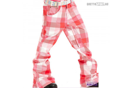 Штаны STL 2012 Popstar Snowborard Pants Pink M