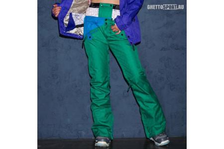 Штаны STL 2014 Beat Snowboard Pants Green/Tuekey M