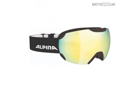 Маска Alpina 2019 Pheos Qmm Black Matt Qmm Gold S2 Sph. /Qmm Gold S2 Sph. (L50)
