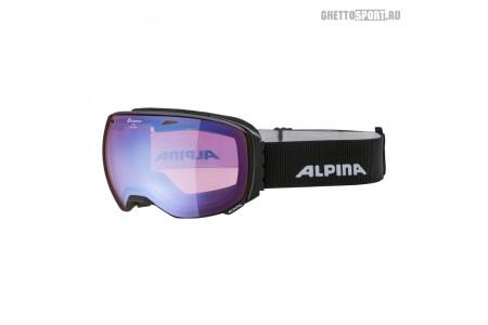 Маска Alpina 2020 Big Horn Black Matt Hm Blue S2 Sph. (L40)