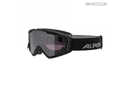 Маска Alpina 2020 Panoma Magnetic Black Matt Q S1 + Sl Black S3 (L40)