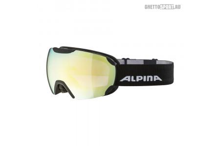Маска Alpina 2020 Pheos Black Matt Qhm Gold S2 Sph. (L50)
