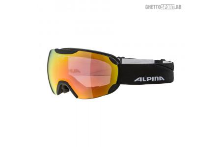 Маска Alpina 2020 Pheos Black Matt Qvm Red Sph. S2 (L50)