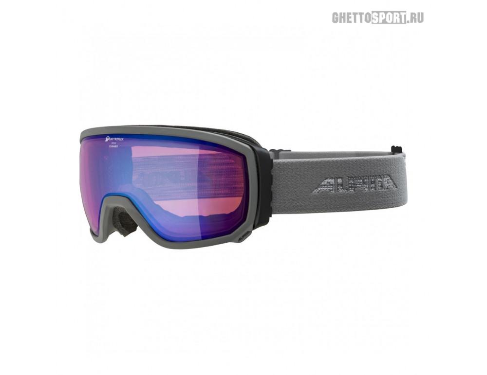 Маска Alpina 2020 Scarabeo Grey Qhm Blue Sph. S2 (L50)