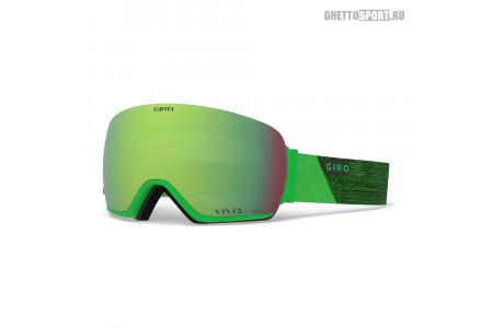 Маска Giro 2019 Article Bright Green Peak Vivid Emerald 22/Vivid Infrared 62 Adult