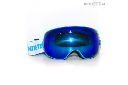 Маска Nix-Ter 2017 Full Hd Octopus Matte Blue Blue Revo Mirror