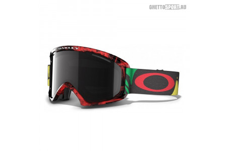 Маска Oakley 2014 02 Xl Burned Out Rasta W/Fire Irid