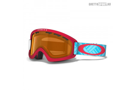 Маска Oakley 2014 02 Xs Braided Blue Red Persimmon
