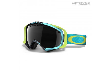Маска Oakley 2014 Crowbar Braided Blue Lime Dark Grey